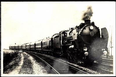 Eisenbahn, Frankreich, Dampflok, Serie 3.1251, 1930--Giclee Print