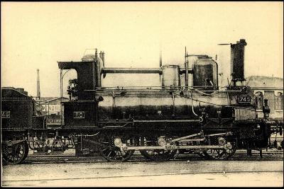 Eisenbahnen, Frankreich, Dampflok, No 745, Orleans--Giclee Print