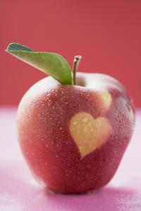 Apple with Heart by Eising Studio - Food Photo and Video