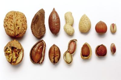 Various Nuts, Shelled and Unshelled by Eising Studio - Food Photo and Video