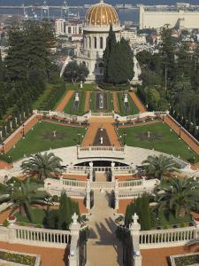 Bahai Shrine and Gardens, Haifa, Israel, Middle East by Eitan Simanor