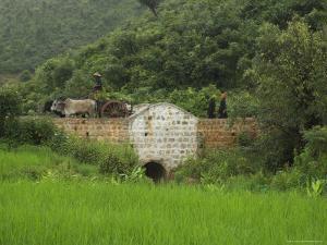 Bridge Built by a Local Ngo, Thit Twin, Shan State, Myanmar (Burma) by Eitan Simanor