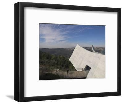 Exit Towards the Jerusalem Hills, New Wing of the Holocaust Museum, Yad Vashem, Jerusalem