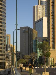 High Rising Buildings and Sheraton City Tower Hotel, Ramat Gan, Tel Aviv, Israel, Middle East by Eitan Simanor