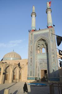 Jameh Mosque, Old City, Yazd, Iran, Western Asia by Eitan Simanor