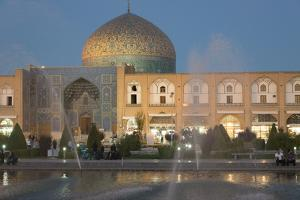 Naqash E Jahan Imam Square, Esfahan, Iran, Western Asia by Eitan Simanor