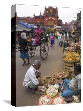 Street Stalls, New Market, West Bengal State, India