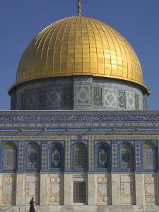The Dome of the Rock, Old City, Unesco World Heritage Site, Jerusalem, Israel, Middle East by Eitan Simanor