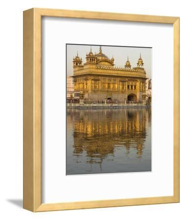 The Sikh Golden Temple Reflected in Pool, Amritsar, Punjab State, India