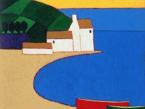 Bay in Southern Brittany, 2004 by Eithne Donne