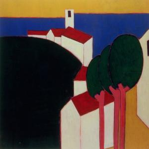 In the Luberon, 2000 by Eithne Donne