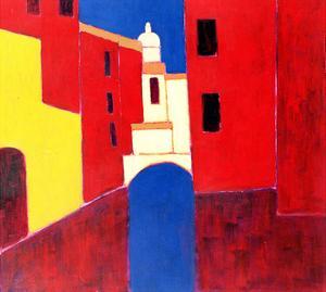 Rio in Cannaregio, Venice, 1999 by Eithne Donne