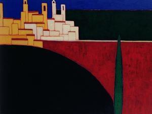 San Gimignano, 1999 by Eithne Donne