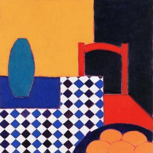 Still Life with Red Chair, 2002 by Eithne Donne