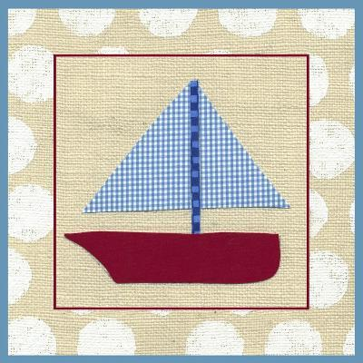 EJ's Sailboat-Chariklia Zarris-Art Print
