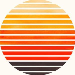 Orange Sunset by Ejaaz Haniff