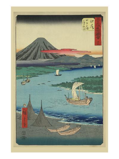 Ejiri-Ando Hiroshige-Art Print