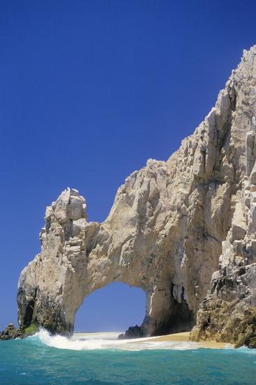 El Arco, Sea Arch at Cabo San Lucas-Kerrick James-Photographic Print