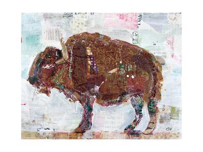 El Buffalo Brown Crop-Kellie Day-Art Print