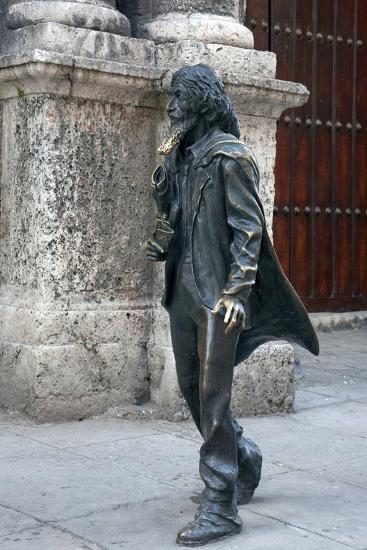 El Caballero De Paris Statue-Carol Highsmith-Photo