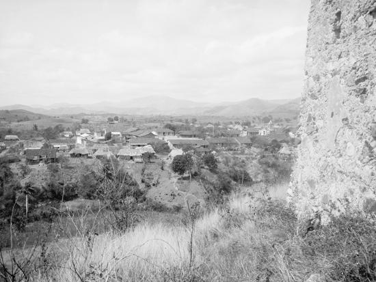 El Caney from the Fort, Santiago De Cuba--Photo