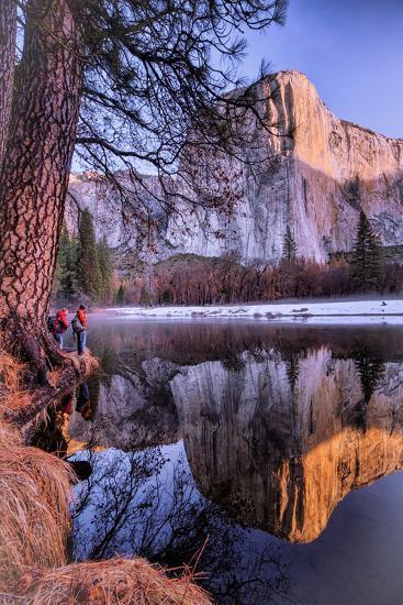 El Capitan Riverside Reflections, Yosemite National Park-Vincent James-Photographic Print