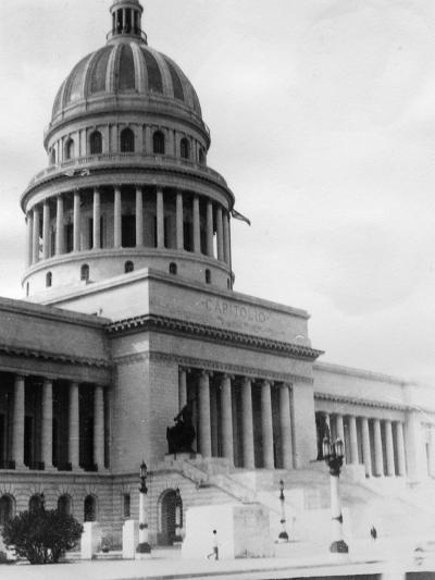 El Capitolio, Havana, Cuba, 1931--Photographic Print