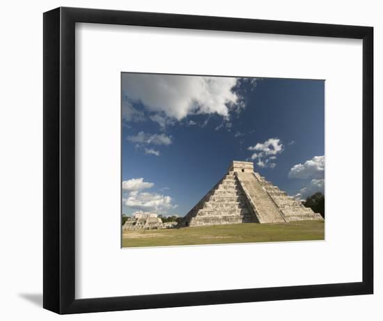 El Castillo, Chichen Itza, Yucatan-Richard Maschmeyer-Framed Photographic Print