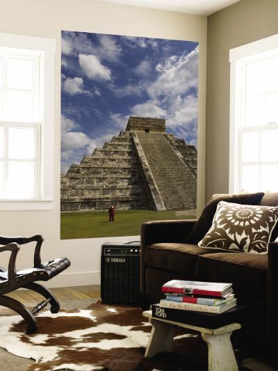El Castillo, Pyramid of Kukulkan-Sabrina Dalbesio-Wall Mural