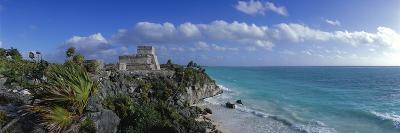 El Castillo Tulum Mexico--Photographic Print
