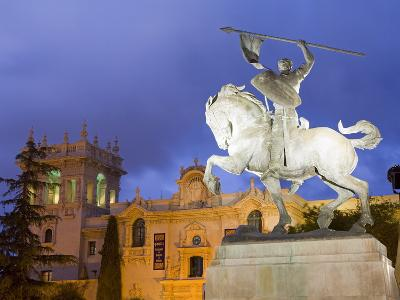 El Cid Statue and House of Hospitality in Balboa Park, San Diego, California-Richard Cummins-Photographic Print