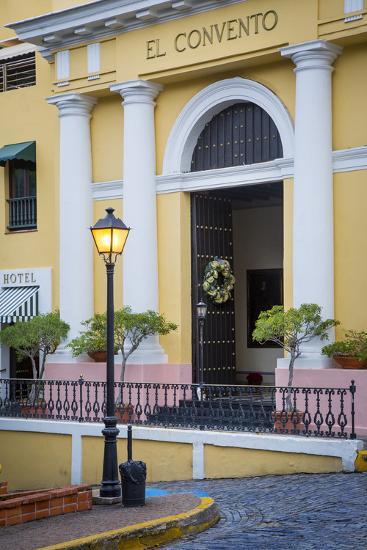 El Convento Hotel in Plazuela de las Monjas, San Juan, Puerto Rico-Brian Jannsen-Photographic Print