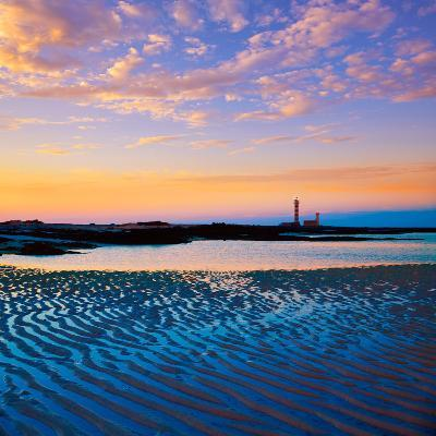 El Cotillo Toston Beach Sunset Fuerteventura at Canary Islands of Spain-Naturewolrd-Photographic Print