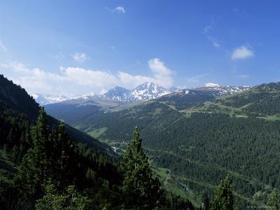 El Cubil and Obac d'Envalira, from Across Vall De Soldeu, Soldeu, Andorra-Pearl Bucknall-Photographic Print
