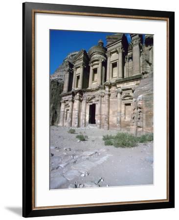 El Deir in Petra, 1st Century-CM Dixon-Framed Photographic Print