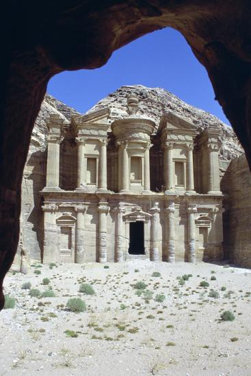 El Deir (The Monastery), Petra, Jordan-Vivienne Sharp-Photographic Print
