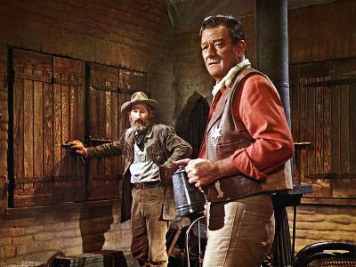 El Dorado, John Wayne, Arthur Hunnicut, 1967--Photo