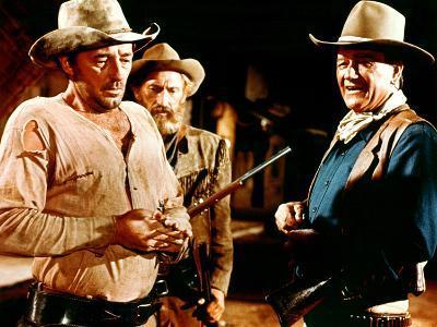 El Dorado, Robert Mitchum, Arthur Hunnicutt, John Wayne, 1967--Photo
