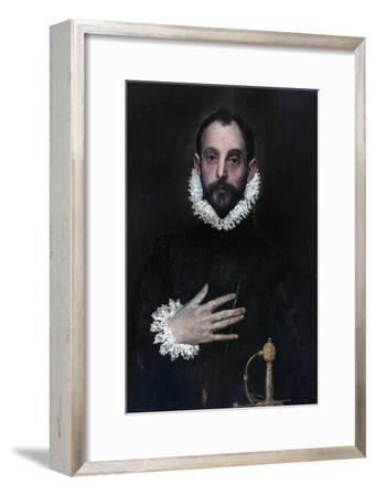 A Nobleman with His Hand on His Chest, C1577-1584