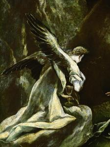 Angel with the Chalice by El Greco