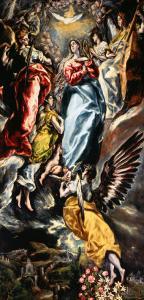 Assumption of the Virgin by El Greco