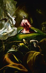 Christ at the Mount of Olives by El Greco