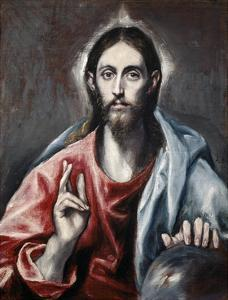 Christ Blessing ('The Savior of the World') by El Greco