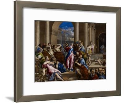 Christ Driving the Money Changers from the Temple, C.1570