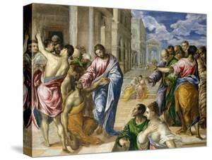 Christ Healing the Blind, c.1570 by El Greco