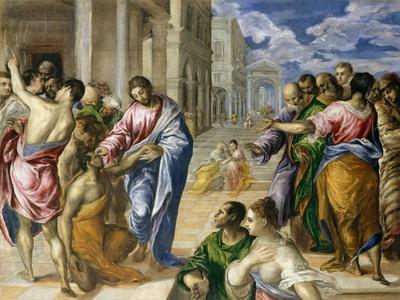 Christ Healing the Blind, c.1570