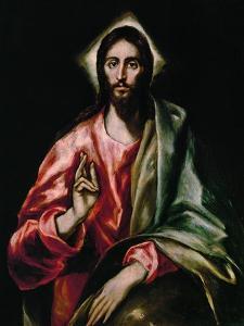 Christ Redeemer, 1610-1614 by El Greco