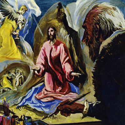 El Greco Continued to Paint Religious Subjects Until His Death at the Age of 73-Luis Arcas Brauner-Giclee Print
