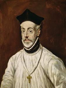 Don Diego de Covarrubias Y Leiva by El Greco