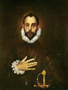 El Greco: Gentleman by El Greco